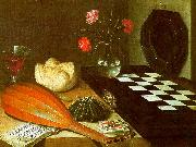 Lubin Baugin Still Life with Chessboard China oil painting reproduction