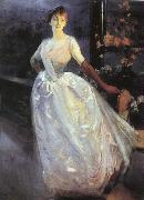 Albert Besnard Portrait of Madame Roger Jourdain China oil painting reproduction
