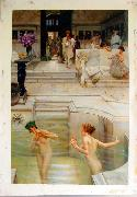 Alma Tadema Alma Tadema reproductions, photographed in  our studio China oil painting reproduction