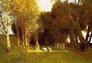 Arnold Bocklin The Sacred Wood China oil painting reproduction