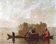 Bingham, George Caleb Fur Traders Going down the Missouri oil painting reproduction