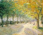 Camille Pissaro Hyde Park, London oil painting reproduction