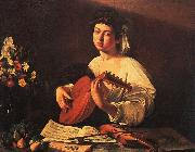 Caravaggio Lute Player5 oil painting reproduction