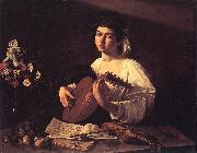 Caravaggio Lute Player f oil painting reproduction