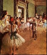 Edgar Degas The Dance Class China oil painting reproduction