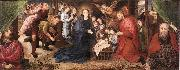 Hugo van der Goes Adoration of the Shepherds oil painting