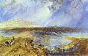J.M.W. Turner Rye, Sussex. c. oil painting reproduction