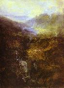 J.M.W. Turner Morning Amongst Coniston Fells, Cumberland oil painting
