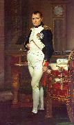Jacques-Louis  David Napoleon in his Study China oil painting reproduction