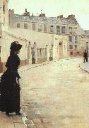 Jean Beraud The Wait (san11) China oil painting reproduction