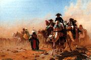 Jean Leon Gerome Napoleon and his General Staff in Egypt China oil painting reproduction