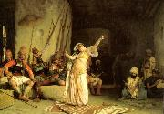Jean Leon Gerome The Dance of the Almeh China oil painting reproduction