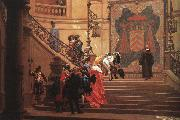 Jean Leon Gerome L'Eminence Grise China oil painting reproduction
