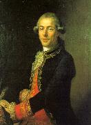 Joaquin Inza Portrait of Tomas de Iriarte oil painting