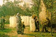 Jules Breton The Communicants China oil painting reproduction