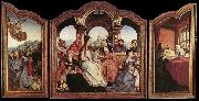 MASSYS, Quentin St Anne Altarpiece sg oil painting