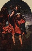 MASSYS, Quentin St John Altarpiece (left wing) sg oil painting