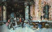 Mariano Fortuny y Marsal The Choice of a Model oil painting