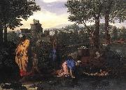 Nicolas Poussin Exposition of Moses oil painting reproduction