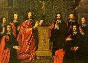 Philippe de Champaigne The Aldermen of the City of Paris oil painting