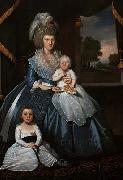 Ralph Earl Mrs Benjamin Tallmadge oil painting