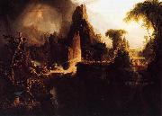 Thomas Cole Expulsion from Garden of Eden oil painting reproduction