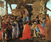 Sandro Botticelli The Adoration of the Magi oil painting