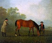 Sawrey Gilpin Furiband with his Owner Sir Harry Harpur and a Groom oil painting reproduction