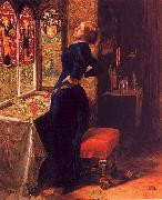 Sir John Everett Millais Mariana oil painting