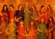 Thomas Cooper Gotch Alleluia oil painting