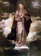 VELAZQUEZ, Diego Rodriguez de Silva y The Immaculate Conception set oil painting