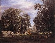 VELDE, Adriaen van de The Farm er oil painting