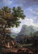 VERNET, Claude-Joseph Shepherd in the Alps  we r oil painting