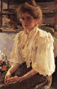 Valentin Serov Mme Lwoff oil painting