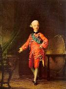 Vigilius Erichsen Grand Prince Pavel Petrovich in his Study oil painting