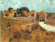 Vincent Van Gogh Farmhouse in Provence oil painting
