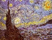 Vincent Van Gogh Starry Night oil painting