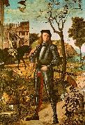 Vittore Carpaccio Portrait of a Knight oil painting