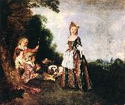 WATTEAU, Antoine The Dance oil painting