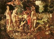 WTEWAEL, Joachim The Judgment of Paris jkgy oil painting