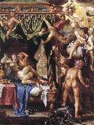 WTEWAEL, Joachim Mars and Venus Discovered by the Gods wer oil painting