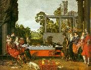 Willem Buytewech Merry Company in the Open Air oil painting