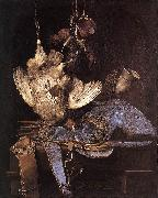 Willem van Still-Life with Hunting Equipment and Dead Birds China oil painting reproduction