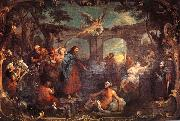 William Hogarth The Pool of Bethesda oil painting