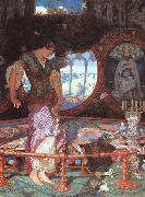William Holman Hunt The Lady of Shalott oil painting