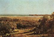 Worthington Whittredge House by the Sea oil painting