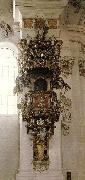 ZIMMERMANN  Dominikus Pulpit oil painting