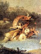ZUCCARELLI  Francesco The Rape of Europa (detail) oil painting