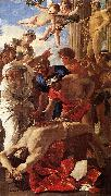 POUSSIN, Nicolas The Martyrdom of St Erasmus sg oil painting