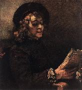 REMBRANDT Harmenszoon van Rijn Titus Reading du China oil painting reproduction